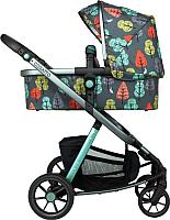 Детская универсальная коляска Cosatto Giggle Quad / 4168 (Hare Wood) -