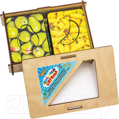 Развивающая игрушка WoodLand Toys Доски Сегена. Фрукты набор / 068214