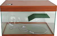 Акватеррариум eGodim Classic (70л, коричневый) -