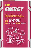 Моторное масло Mannol Energy 5W30 SN/CH-4 A3/B4 / MN7511-1ME (1л) -