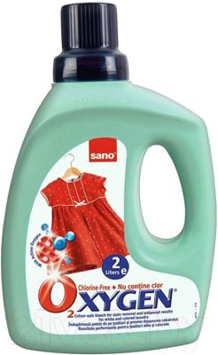 Отбеливатель Sano Oxygen Chlorine-Free Color-Safe Bleach for Stain Removal