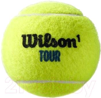 Набор теннисных мячей Wilson Tour Premier All CT 3 BALL CAN / WRT109400