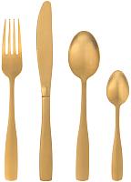 Набор столовых приборов Maku Kitchen Life Champagne Gold 310196 (16шт) -