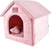 Домик для животных Pinkaholic Luna House / NARA-AU7327-IP-FR (розовый) -