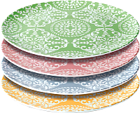 Набор тарелок BergHOFF 8500249 -