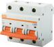 Выключатель автоматический TDM ВА 47-100 3Р 80А (D) 10кА / SQ0207-0032 -