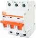 Выключатель автоматический TDM ВА 47-29 3Р 25А (D) 4.5кА / SQ0206-0175 -