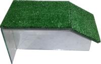 Мост для черепах eGodim С искусственной травой (малый) -