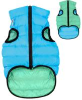 Куртка для животных AiryVest Lumi 2166 (S, салатовый/голубой) -