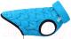 Куртка для животных AiryVest UNI 2526 (S, голубой/черный) -