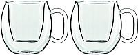 Набор кружек Luigi Bormioli Thermic Glass / 10665/01 (2шт) -