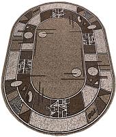 Ковер Белка Лайла Де Люкс Овал 15804 10822 (1.4x1.9) -