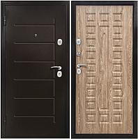 Входная дверь Магна Йорк (205x96, карпатская ель левая) -