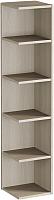 Угловое окончание для шкафа Мебель-КМК Атланта 2 0741.10 (ясень шимо светлый/ясень шимо темный) -