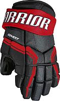 Перчатки хоккейные Warrior QRE3 / Q3G-BRD12 (черный/красный) -