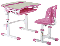 Парта+стул Растущая мебель Smart C304S (розовый) -