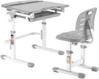 Парта+стул Растущая мебель Smart C304S (серый) -