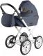 Детская универсальная коляска Ray Corsa Eco Classic 2 в 1 (21/темно-серая кожа) -
