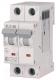 Выключатель автоматический Eaton HL-C25/2 2P 25A C 4.5кA 2M / 194773 -