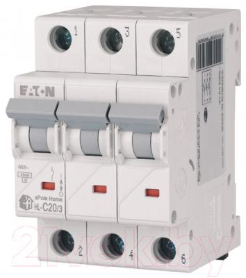 Выключатель автоматический Eaton HL-C50/3 3P 50A C 4.5кA 3M / 194796