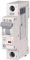 Выключатель автоматический Eaton HL-B6/1 1P 6A B 4.5кA 1M / 194718 -