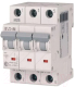 Выключатель автоматический Eaton HL-B50/3 3P 50A B 4.5кA 3M / 194786 -