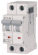 Выключатель автоматический Eaton HL-B25/2 2P 25A B 4.5кA 2M / 194763 -