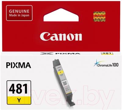 Картридж Canon CLI-481Y (2100C001)