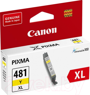Картридж Canon CLI-481XLY (2046C001)