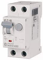 Дифференциальный автомат Eaton HNB-B10/1N/003 1P+N 10А В 6кА 30мА АС 2М / 195119 -