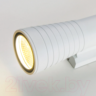 Бра уличное Elektrostandard 1502 Techno Led Tube Doble (белый)