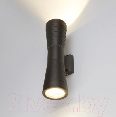 Бра уличное Elektrostandard 1502 Techno Led Tube Doble (черный)