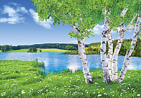 Фотообои Твоя планета У озера (194х136) -