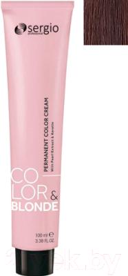Крем-краска для волос Sergio Professional Color&Blonde 6.3 (темно-русый золотистый)