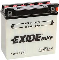 Мотоаккумулятор Exide 12N5.5-3B (5.5 А/ч) -