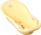 Ванночка детская Tega Лесная сказка / FF-005-109 (светло-желтый) -
