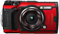 Компактный фотоаппарат Olympus TG-6 (красный) -