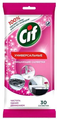Влажные салфетки для дома Cif Универсальные для очищения поверхностей (30шт)