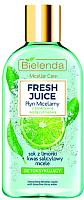 Мицеллярная вода Bielenda Fresh Juice лайм (100мл) -