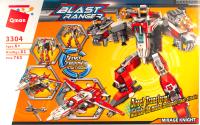 Конструктор Brick Робот-самолет / 3304 -