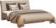 Двуспальная кровать Мебель-КМК 1600-01 0685.1 (дуб сонома/Western 01) -