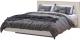 Двуспальная кровать Мебель-КМК 1600 Николь 2 0683.14 (дуб шамони светлый) -