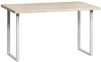 Обеденный стол Loftyhome Лондейл 1 / LD050104 (натуральный с белым основанием) -