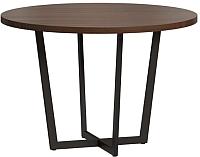 Обеденный стол Loftyhome Лондейл 4 / LD050401 (коричневый) -
