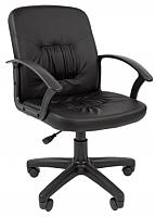 Кресло офисное Chairman Стандарт СТ-51 (экокожа, черный) -