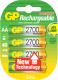 Комплект аккумуляторов GP Batteries 270AAHCBB8-2PLC4 4BP (4шт) -