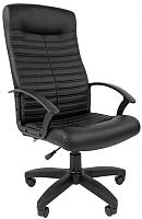 Кресло офисное Chairman Стандарт СТ-80 (экокожа, черный) -