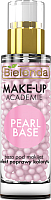 Основа под макияж Bielenda Make-Up Academie Pearl Base розовая (30мл) -