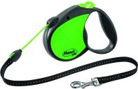 Поводок-рулетка Flexi Standart Neon 42601 (S, зеленый) -