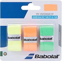 Овергрип Babolat My Overgrip X3 / 653045-215 (3шт, оранжевый/зеленый/желтый) -